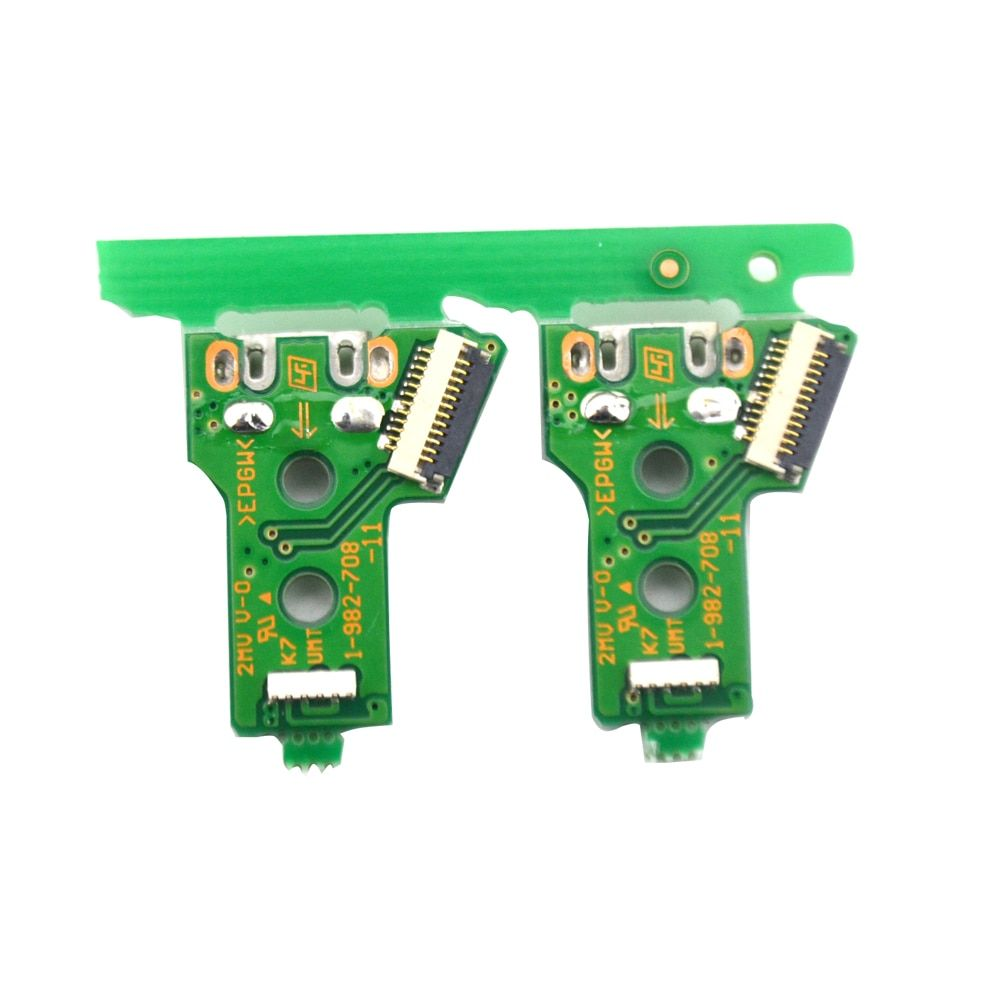 100pcs Triangular Mainboard Jds 055 Version 050 Charging Borad Usb Charging Port Board For Ps4 Wireless Dualshock 4 Controller Dualshock Usb Charging Usb