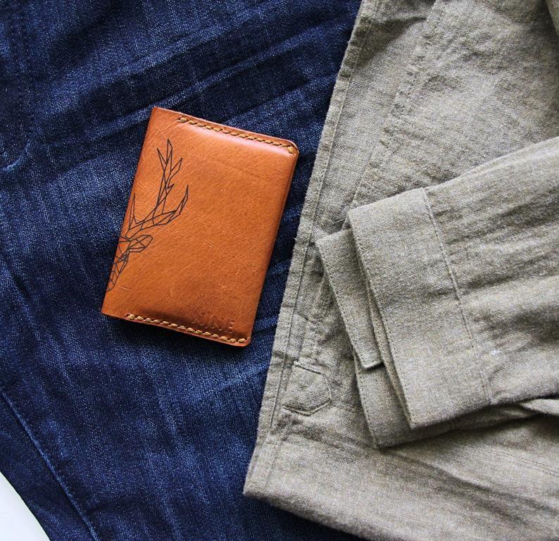 Bifold wallet men credit card holder slim wallet for men