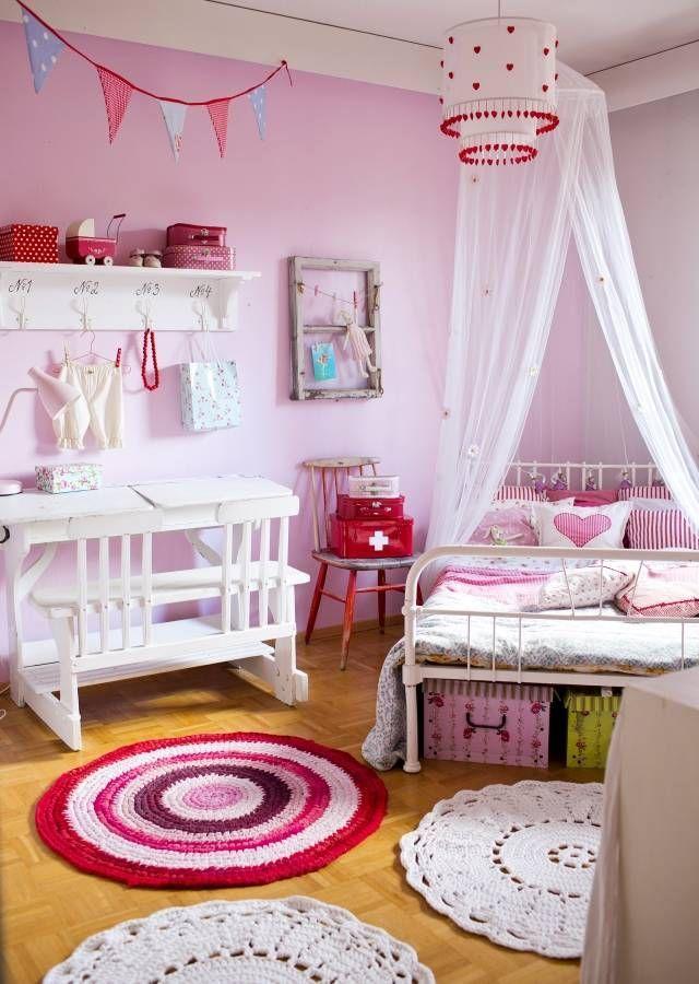 Een echte meiden kamer | Interieur blog | Pinterest - Kinderkamer ...