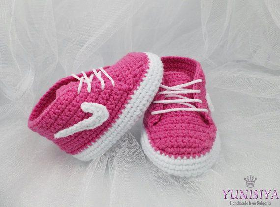 Baby-Schuhe, Babyschuhe, Baby-Dusche-Geschenk, Gehäkelte Babyschuhe ...