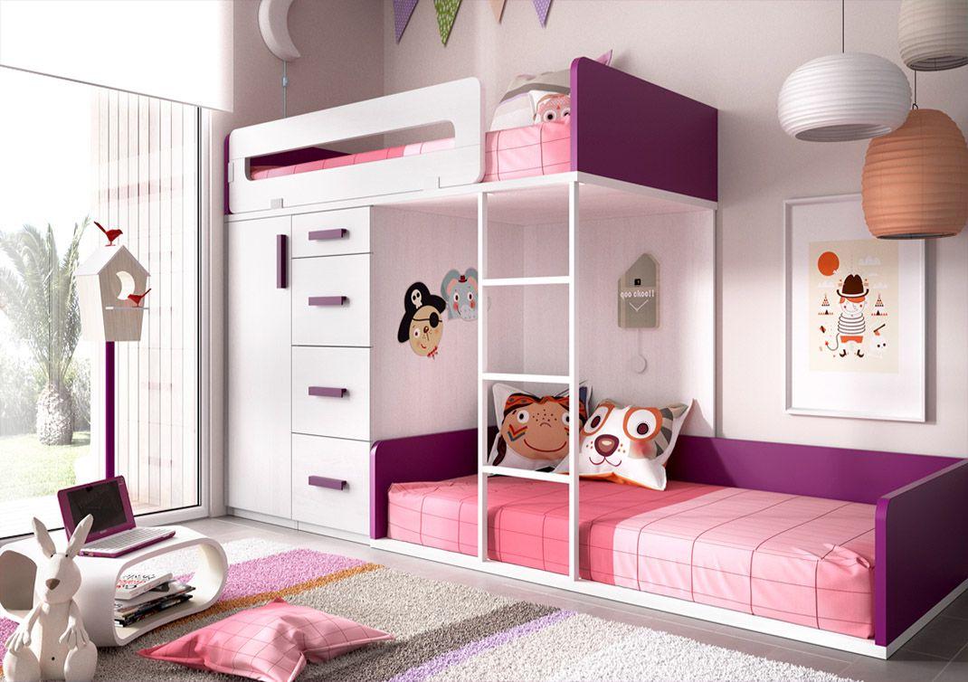 Las mejores camas para ni os y ni as blog salud y ideas for Dormitorios ninos baratos