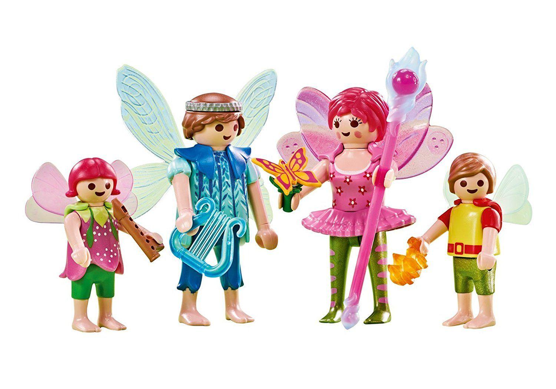 Amazon Com Playmobil 6561 Fairy Family Toys Games Mom Dad Baby Dad Baby Playmobil