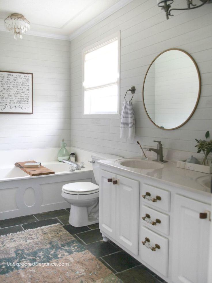 Small Bathroom Updates For Under Pinterest Simple Bathroom - Simple bathroom updates