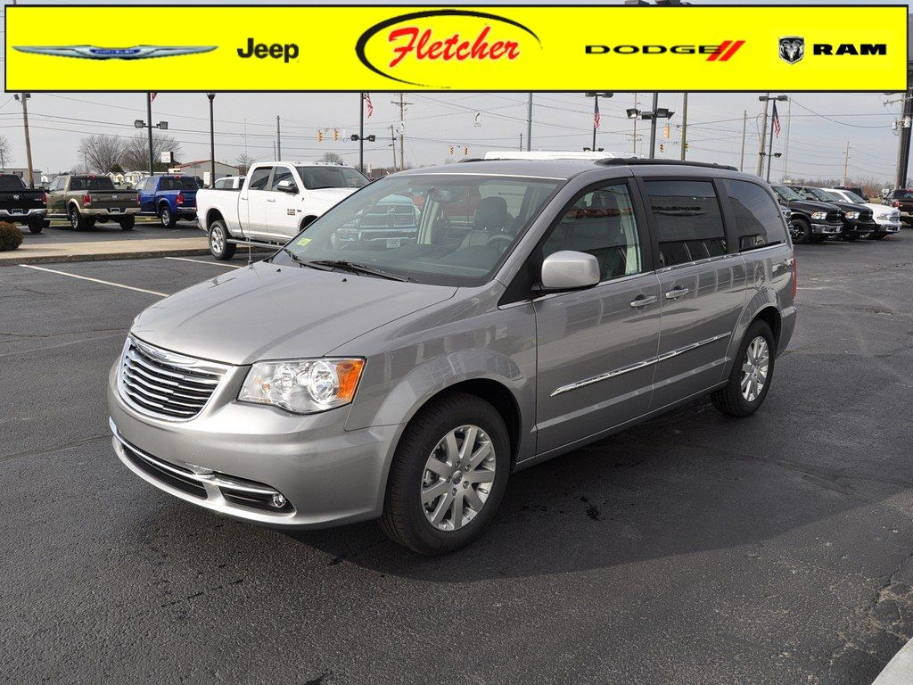 New 2015 Chrysler Town And Country Touring Van V 6 Cyl Billet