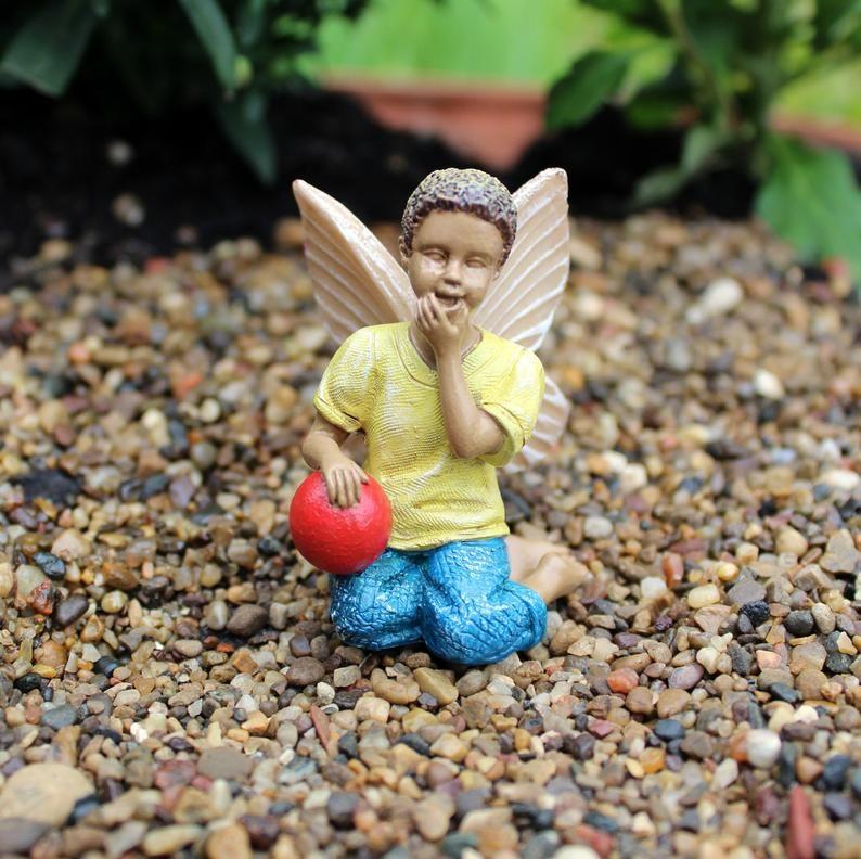 African American Fairies For Fairy Gardens