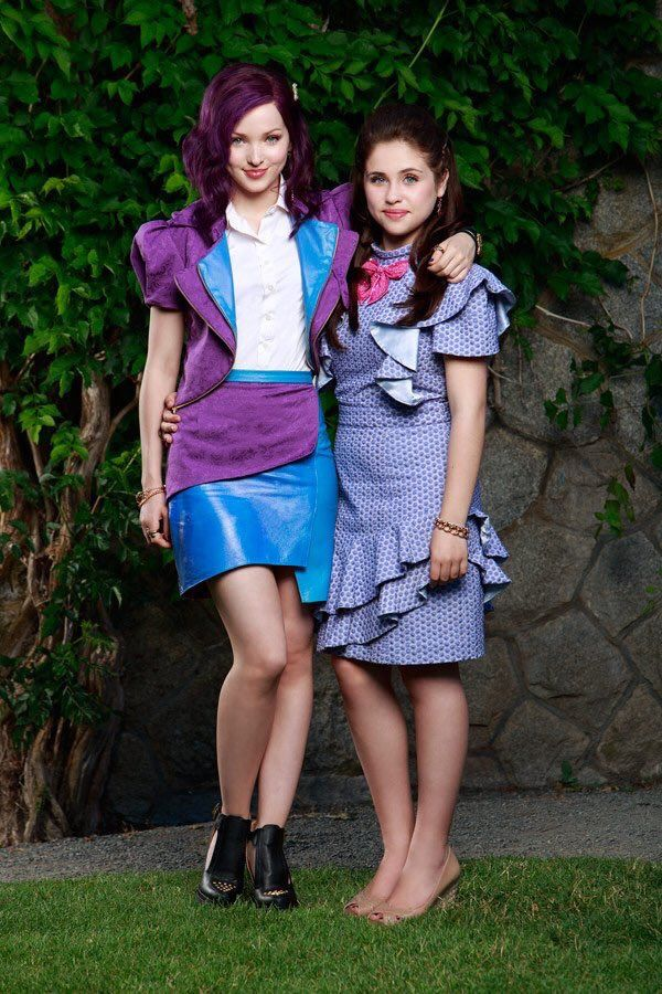 Mal and Jane #Descendants | ☾descenders☽ | Disney channel