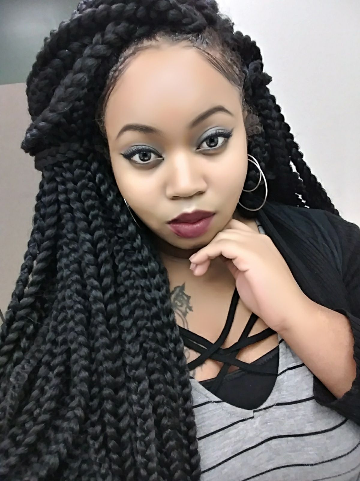 Brand HeySis Poetic Justice Braids Color 1B/ Jet Black