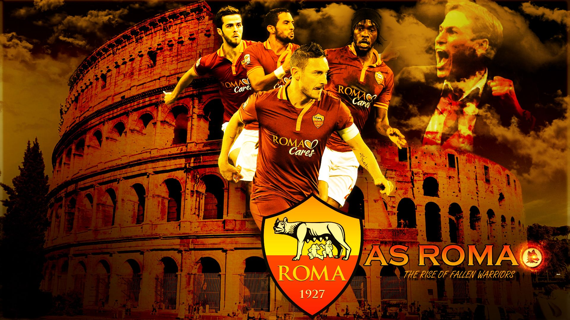 As Roma High Quality Wallpaper 971385 Feelgrafixcom