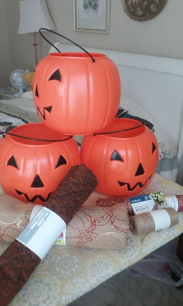 Fabric+Pumpkins