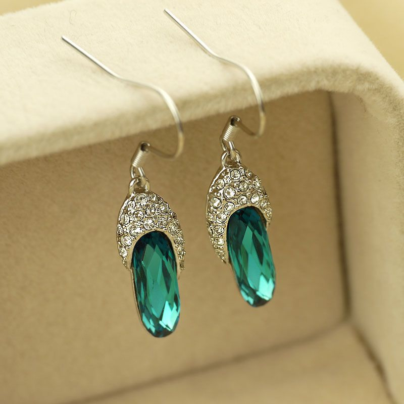 Retro temperament luxury Slipper Earrings