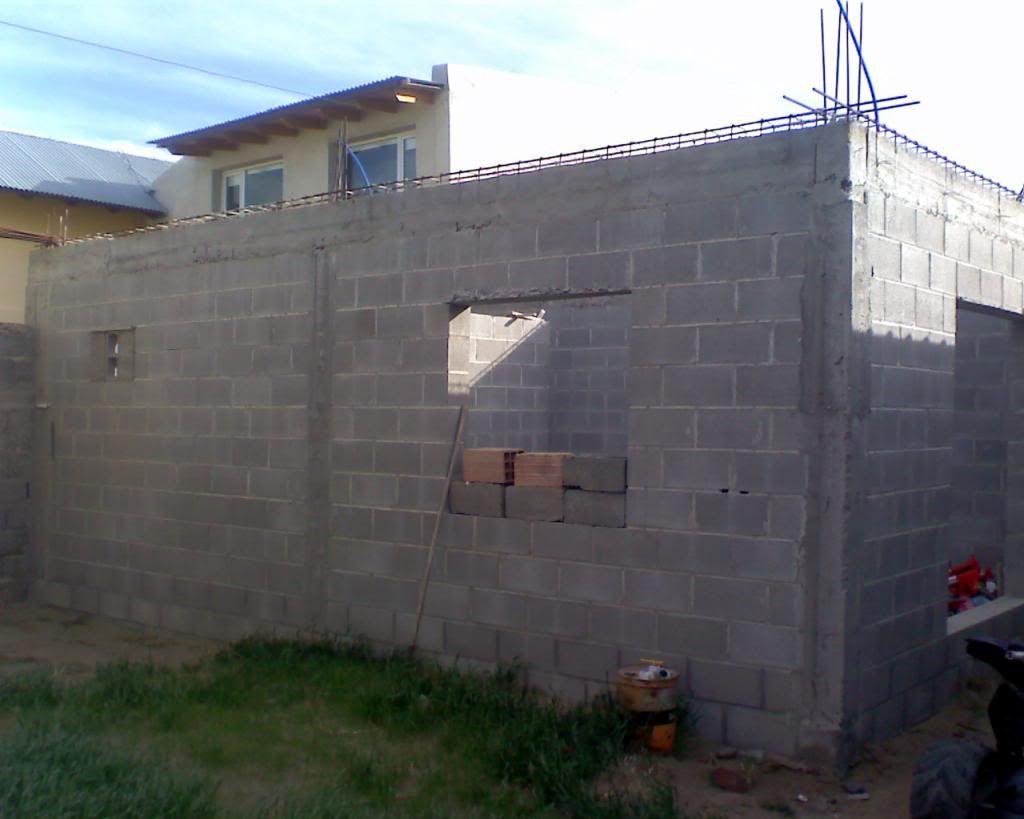 Techo de chapas a 1 agua parte 1 chapa ondulada agua for Techos de concreto para casas