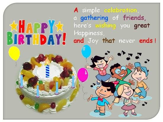 Kids Happy Birthday Wishes Wallpapers And Pictures Happy Birthday Wishes For Toddler