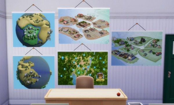 Budgie2budgie School Cc Maps Sims 4 Sims Sims 4 Studio