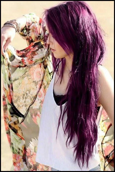 17 stilvolle Haarfarbe Designs: lila Haar Ideen zu versuchen! | Bob Frisuren – 2019 Frisuren