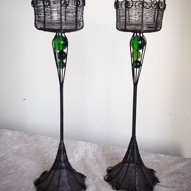hängande glaskulor för värmeljus