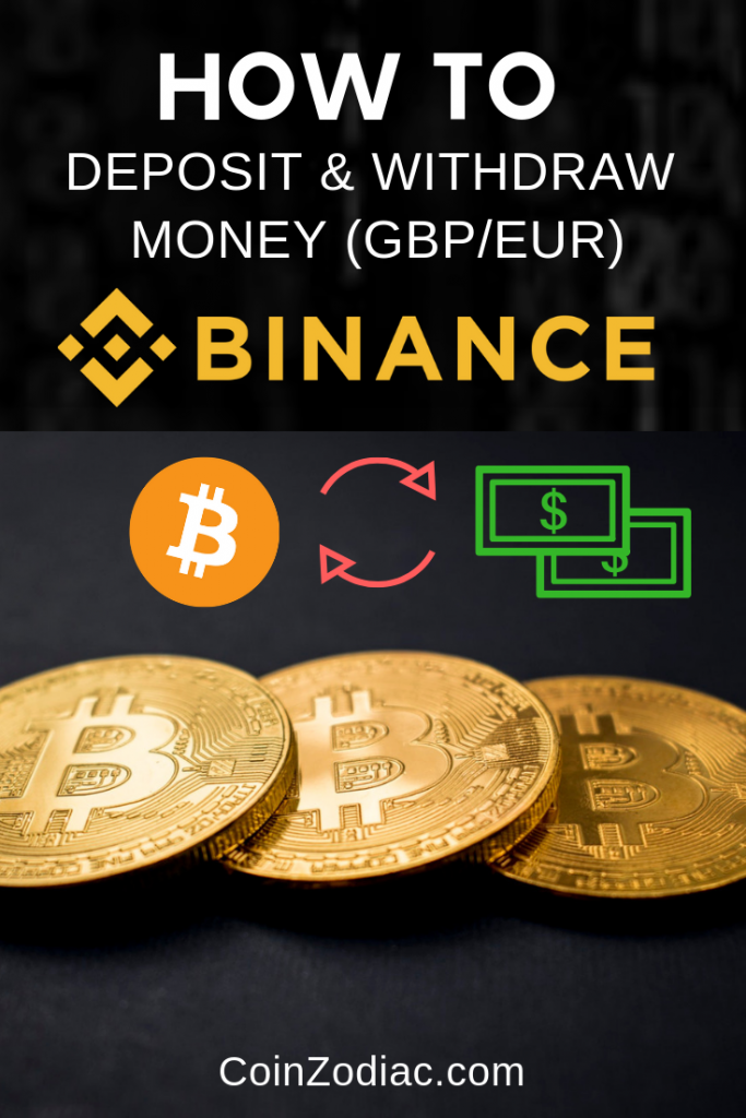 How To Deposit Withdraw Money Gbp Eur On Binance Bitcoin