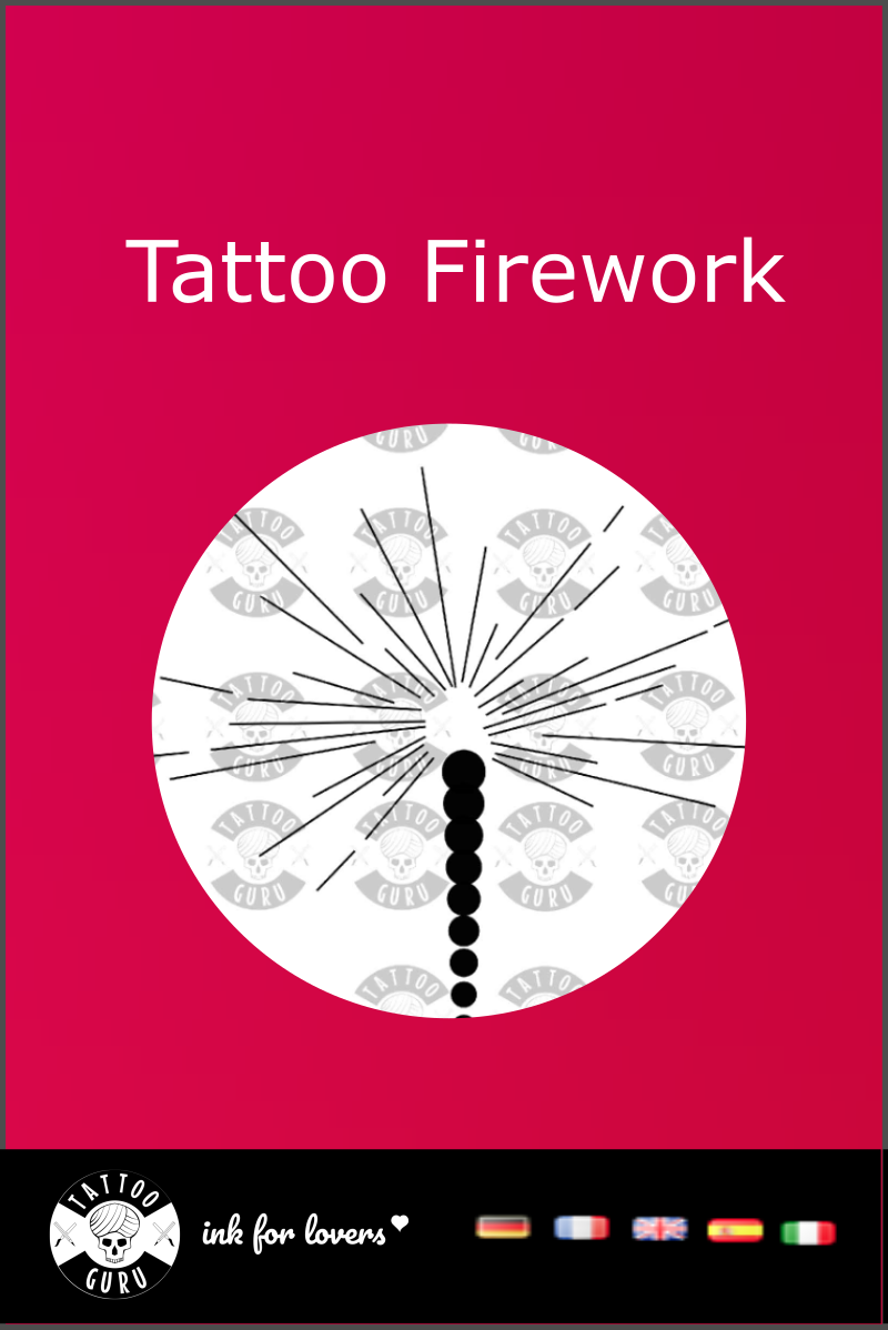 tattoo template firework must see tattoo templates fireworks diagram tattoos  [ 800 x 1198 Pixel ]