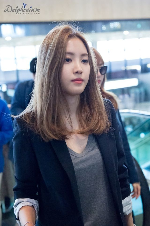 Shoulder Length Hair Korean