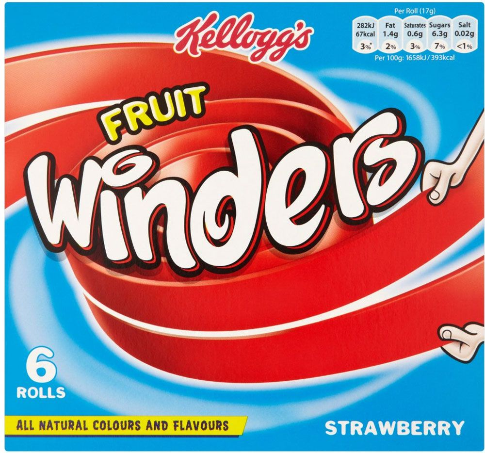 Kellogg S Fruit Winders Strawberry 6x17g Compare Prices Buy Online Mysupermarket