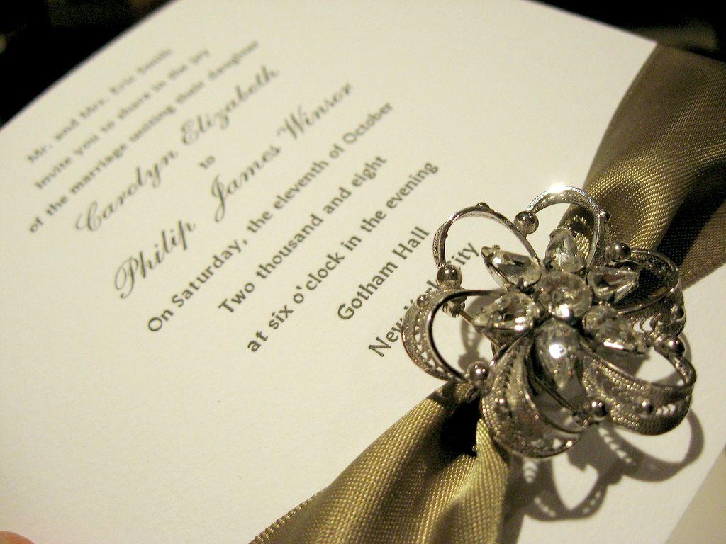 Silk Box | Ribbon wedding, Invitation design and Wedding card