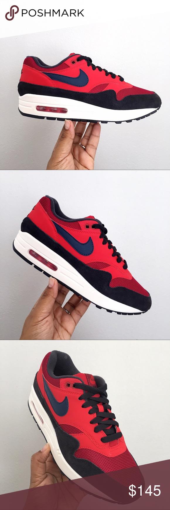 """Nike Air Max 1 New WBox """"Red Crush"""""""