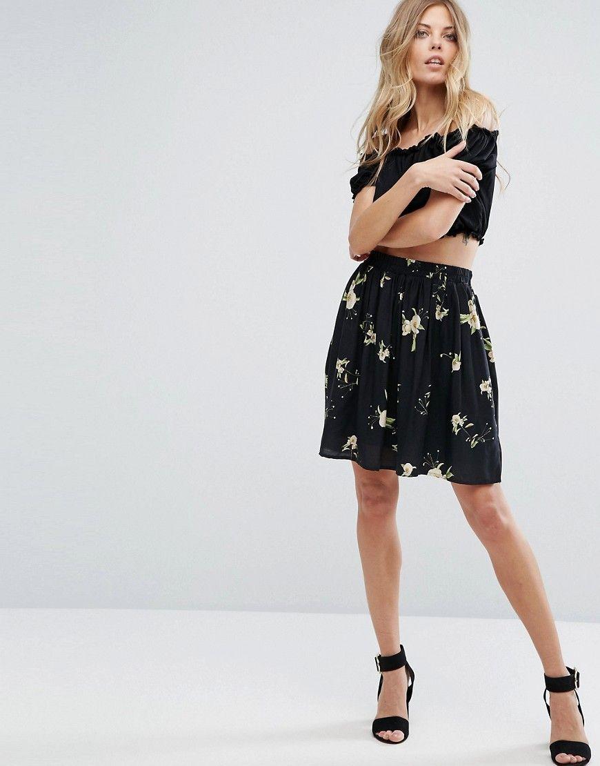 79dec2f5bff Y.A.S Floral Printed Mini Skirt - Multi