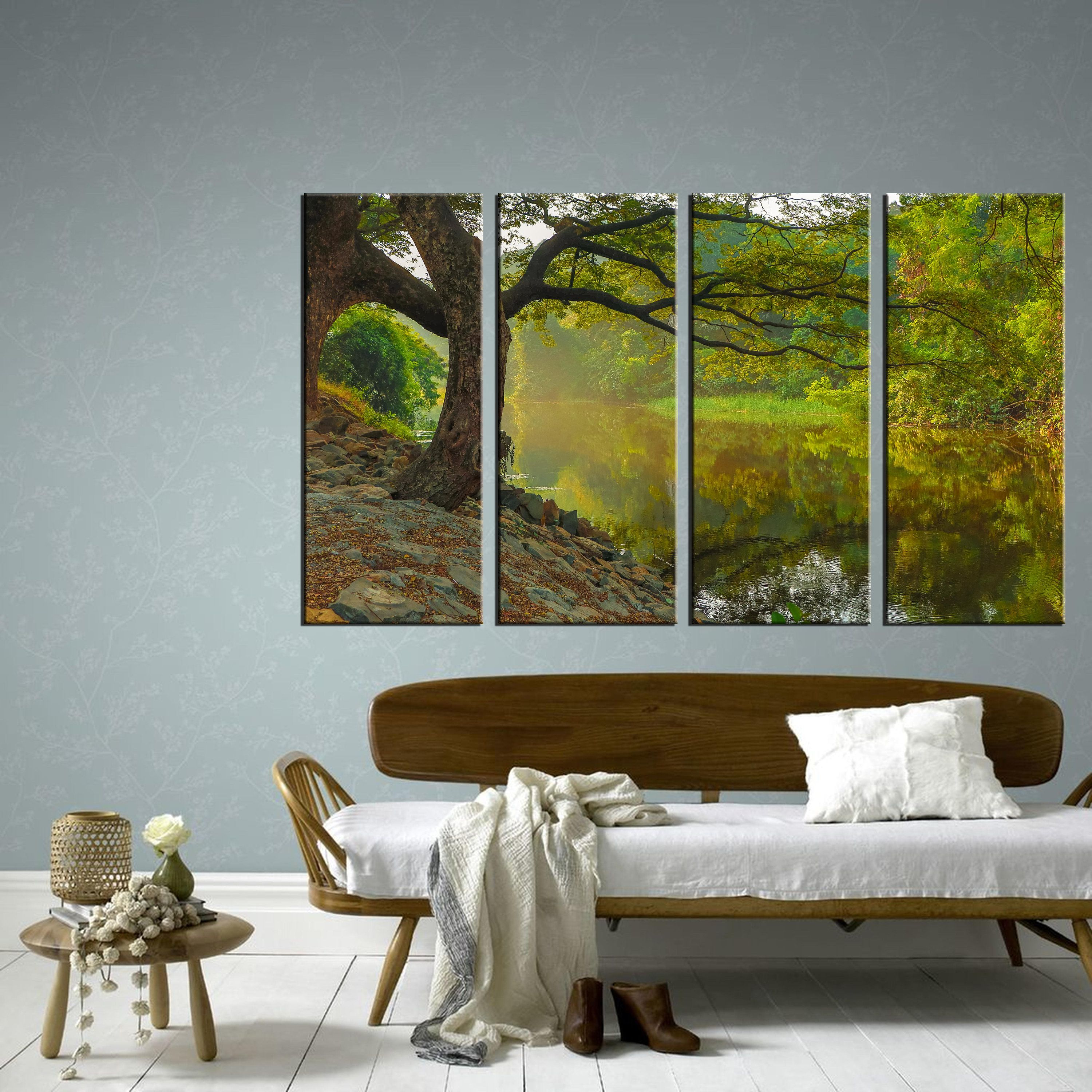 Forest Canvas Nature Canvas Canvas Art Wall Art Canvas Wall