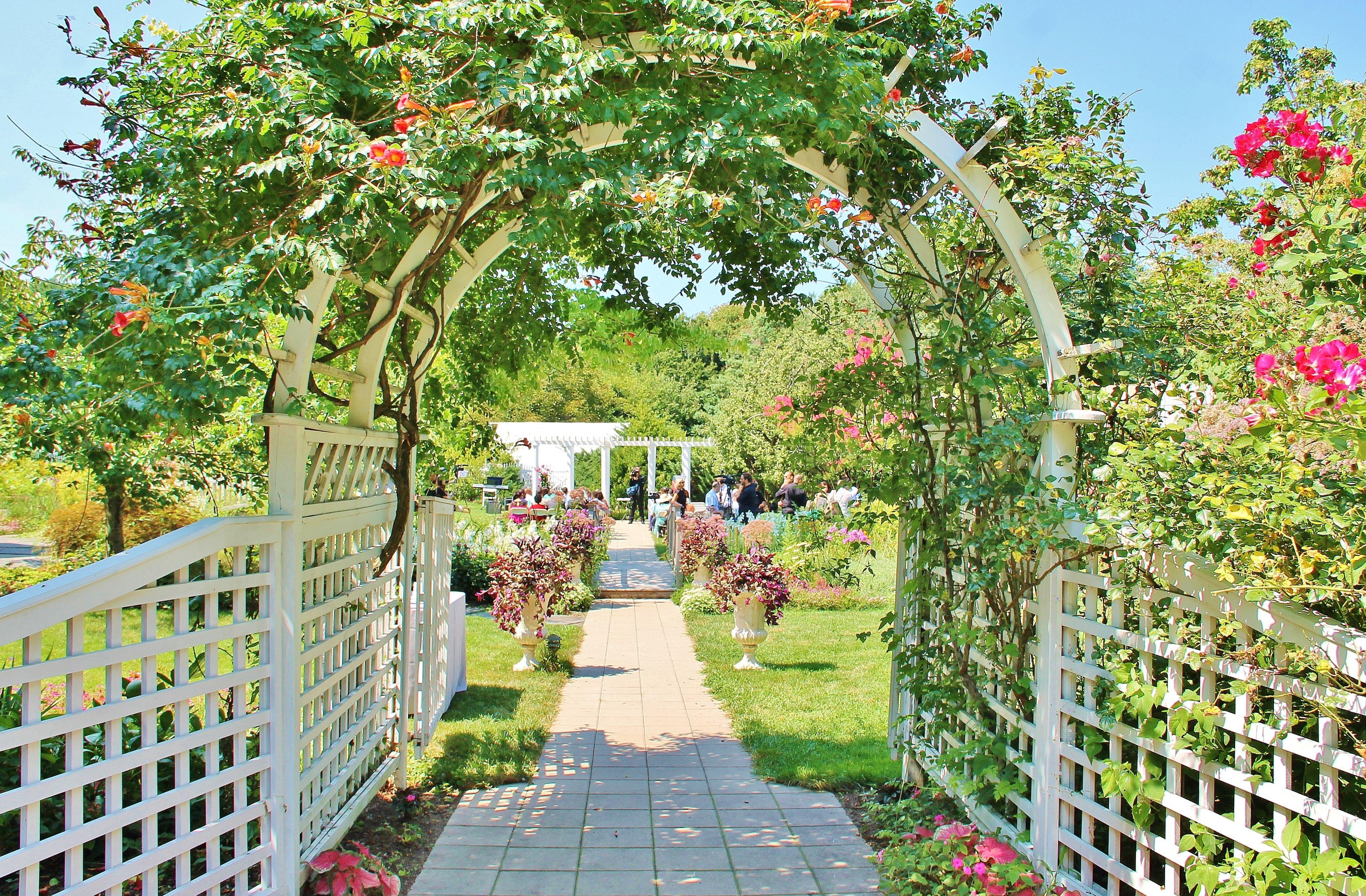 My Wedding Venue The Garden At Queens Botanical
