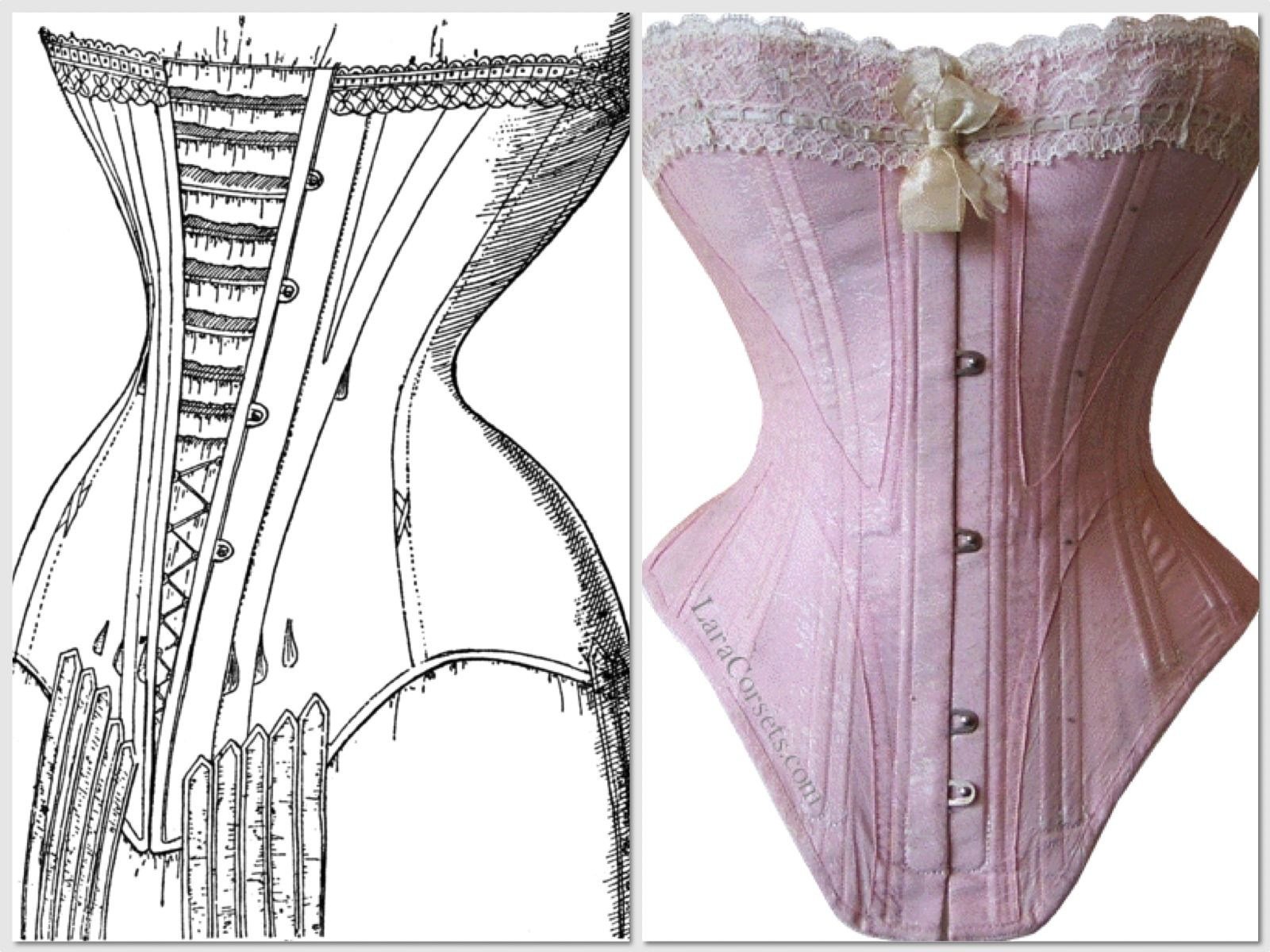 Era-1910's Category-Intimate Apparel In the 1910's women wore