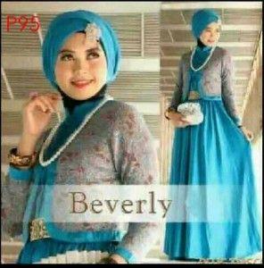Gaun Pesta Anak Muda Gamis Beverly Set Tosca 296x300 Baju