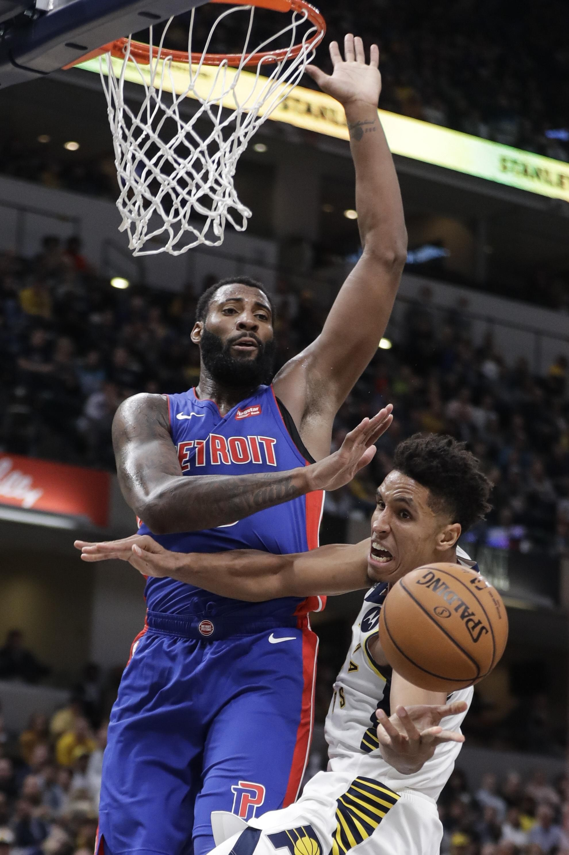Drummond goes for 32 points 23 rebounds as pistons win in