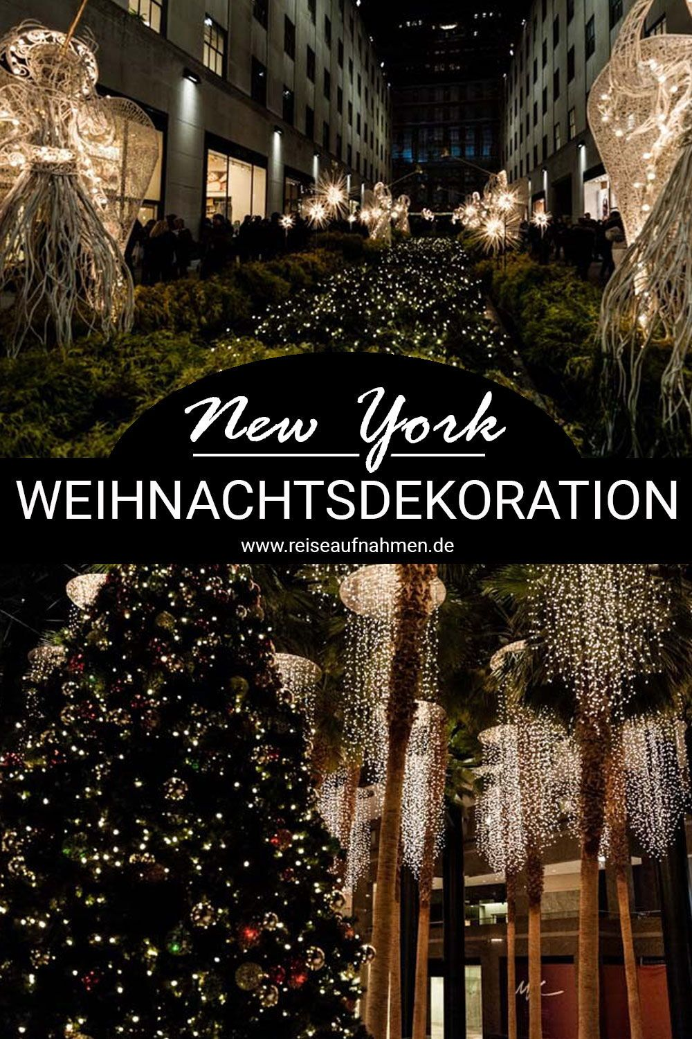 new york an weihnachten bedeutet lichterglanz berall. Black Bedroom Furniture Sets. Home Design Ideas