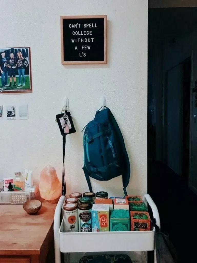 ✔52 of genius dorm room decorating ideas on a budget 26 » Interior Design #dormroomdesigns