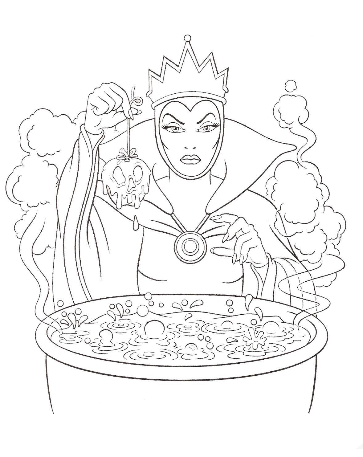 47++ Disney villains free coloring pages information