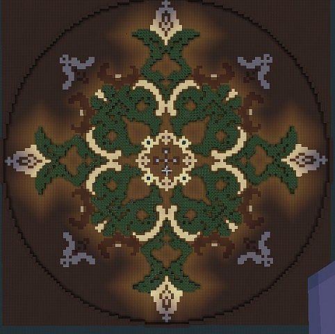 Floor Design Garden Minecraft Project Golden Pic Minecraft