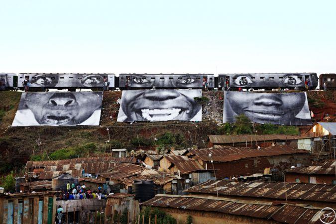 Women Are Heroes - Africa | JR - Artist