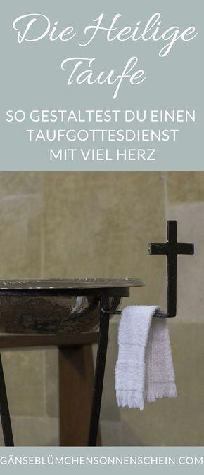 Der Ablauf Des Taufgottesdienst Taufe Fürbitten Taufe