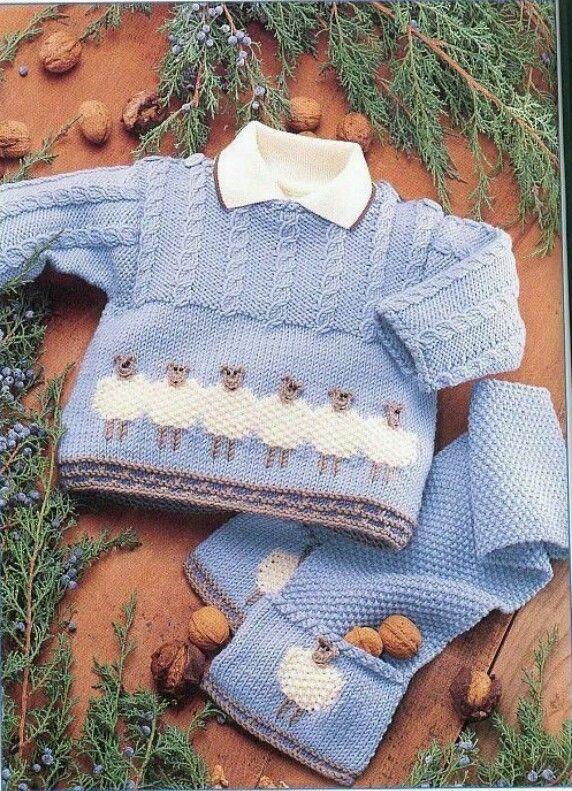 Sheepie Sweater Pinterest Baby Knitting Babies