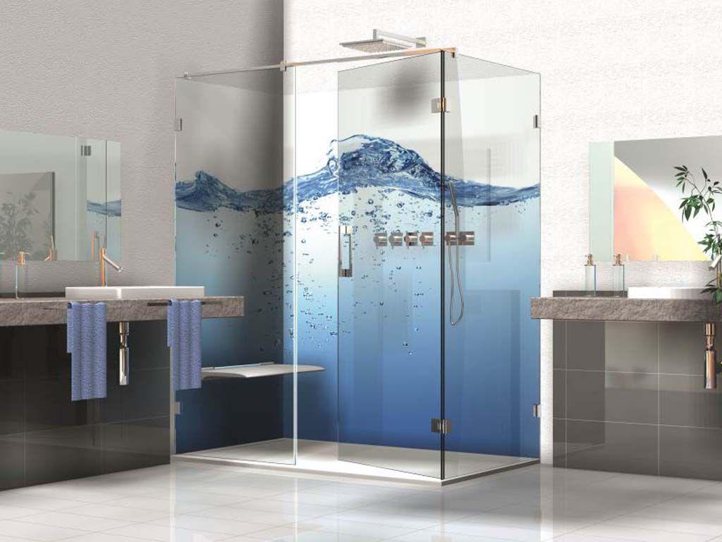 Sklenená sprcha so špičkovými kovaniami  FLAMEA PLUS nemeckej kvality s 5 ročnou zárukou. Využitie pre výklenkové, rohové, 5 uholníkové, U sprchy alebo vane.