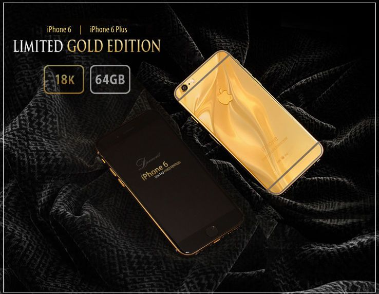 Iphone Gold Limited Edition