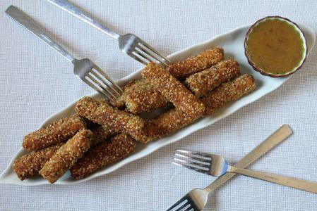 Chicken fingers con salsa de miel y | ¿Qué cocino hoy?