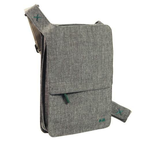 Bellows iPad Shoulder Bag - Dark Grey - Nava - Do Shop