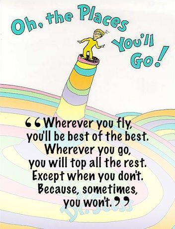 Encouragement Dr Seuss Quotes For Kids