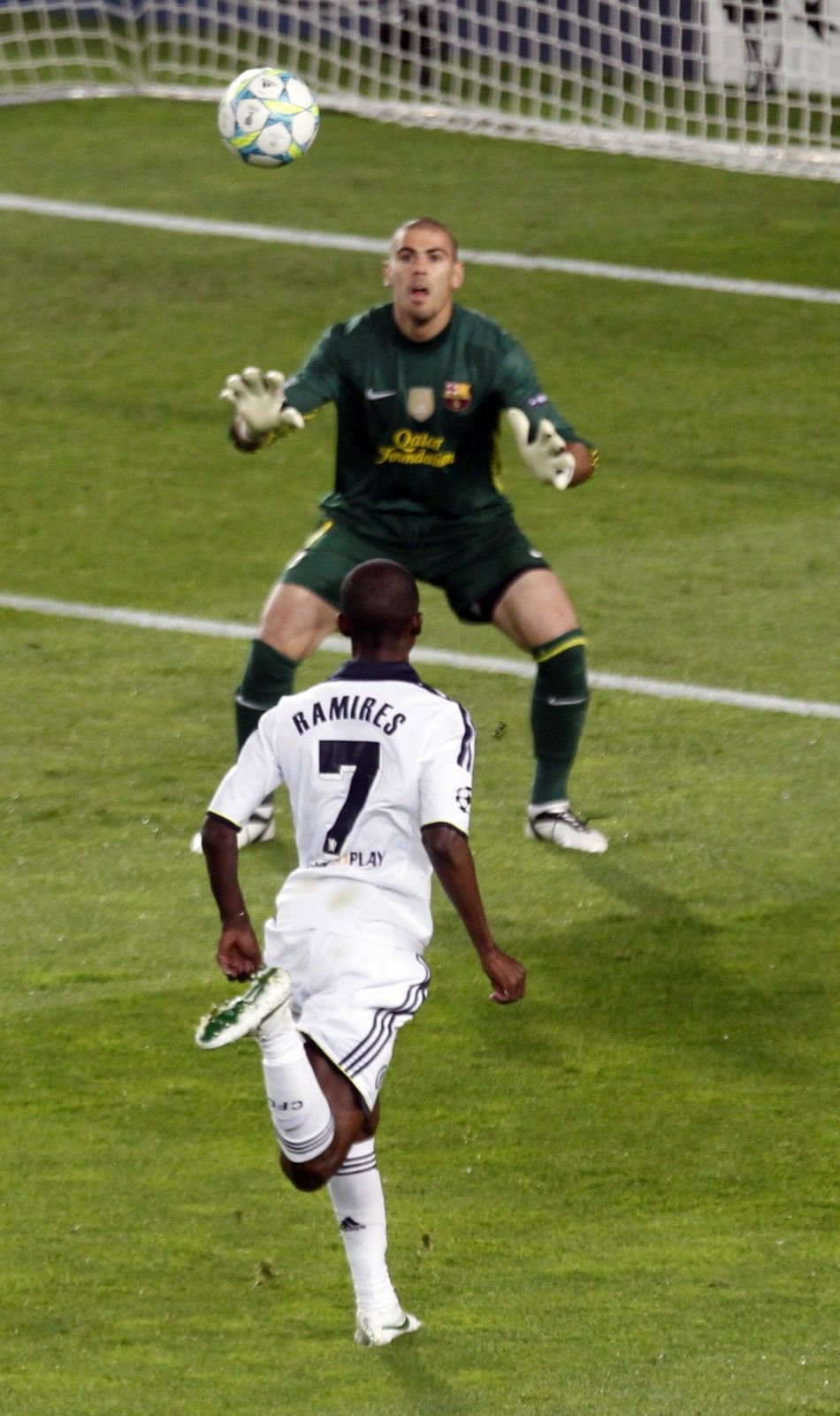 Ramires scored an excellent goal against Barcelona in the