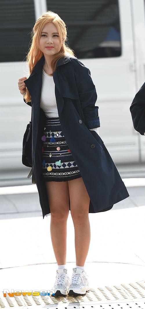 티아라 큐리 '초미니 패션이 자신있어'