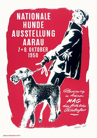National Dog Show. 1950  http://www.vintagevenus.com.au/vintage/reprints/info/AN167.htm