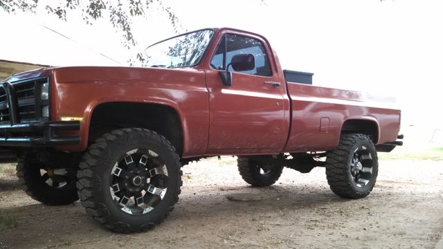 87 Chevy 4x4 Lifted Trade Chevy 4x4 Chevy Best Gas Mileage