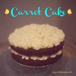¡La receta definitiva de Carrot Cake! Siguiendo la receta de Hummingbird Bakery