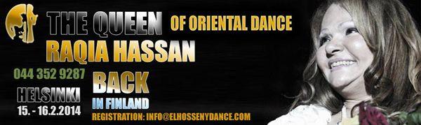 Itämainen tanssi - Oriental Dance :: El Hosseny Dance Raqia Hassan in Helsinki February 2014