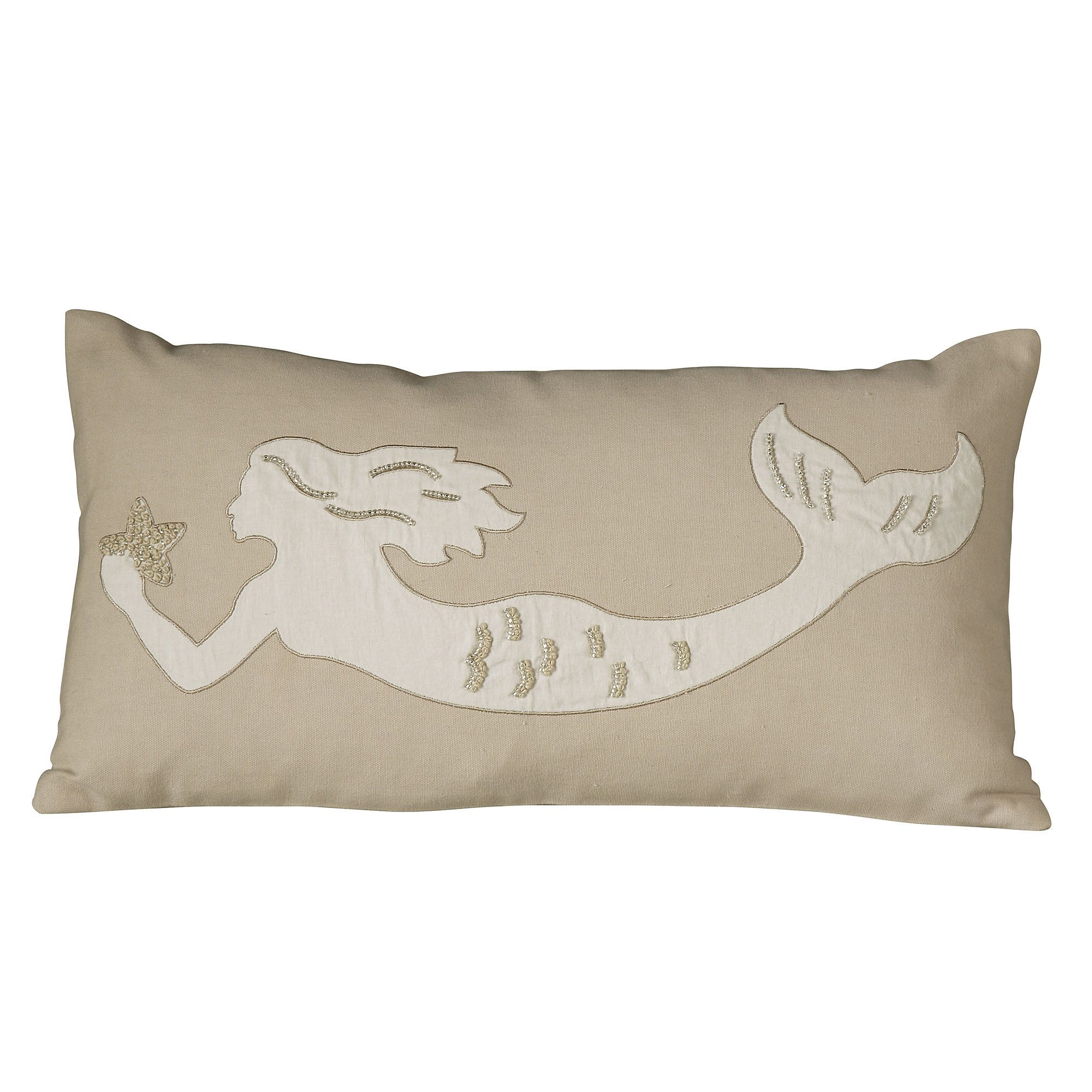 Marina Pillow Cover Collection Embellished Pillows Pillows Mermaid Home Decor